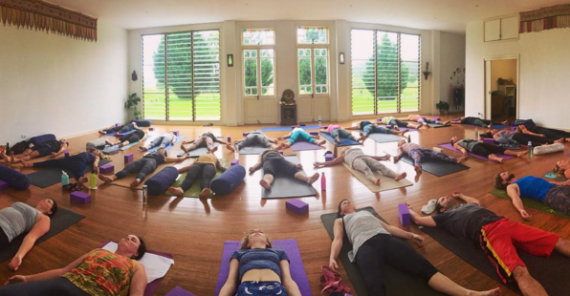 HeartGlow Yoga Cozy Winter Retreat with Kelli Prieur 21st-23rd July